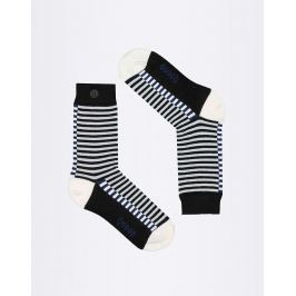 Qnoop Fancy Stripe Black 35-38