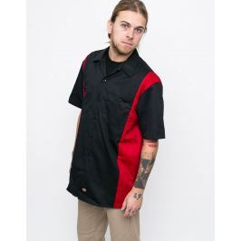 Dickies Two Tone Work Black/EngRed M